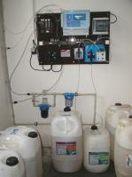 Deska MaR, dávkování chemikálií